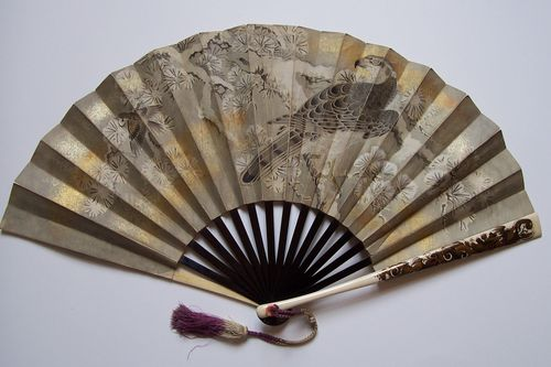 fan with coral ring