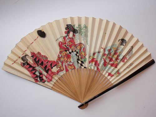 Kunisada print fan