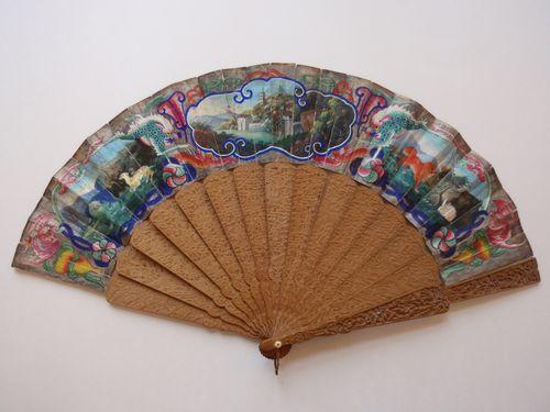 Mandarin Fan