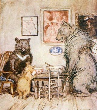 Rackham's Three Bears