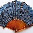 Second jay feather fan